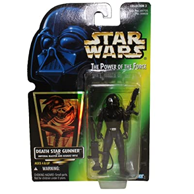 Star Wars: Power of the Force Green Card Death Star Gunner Action Figure: Toys & Games