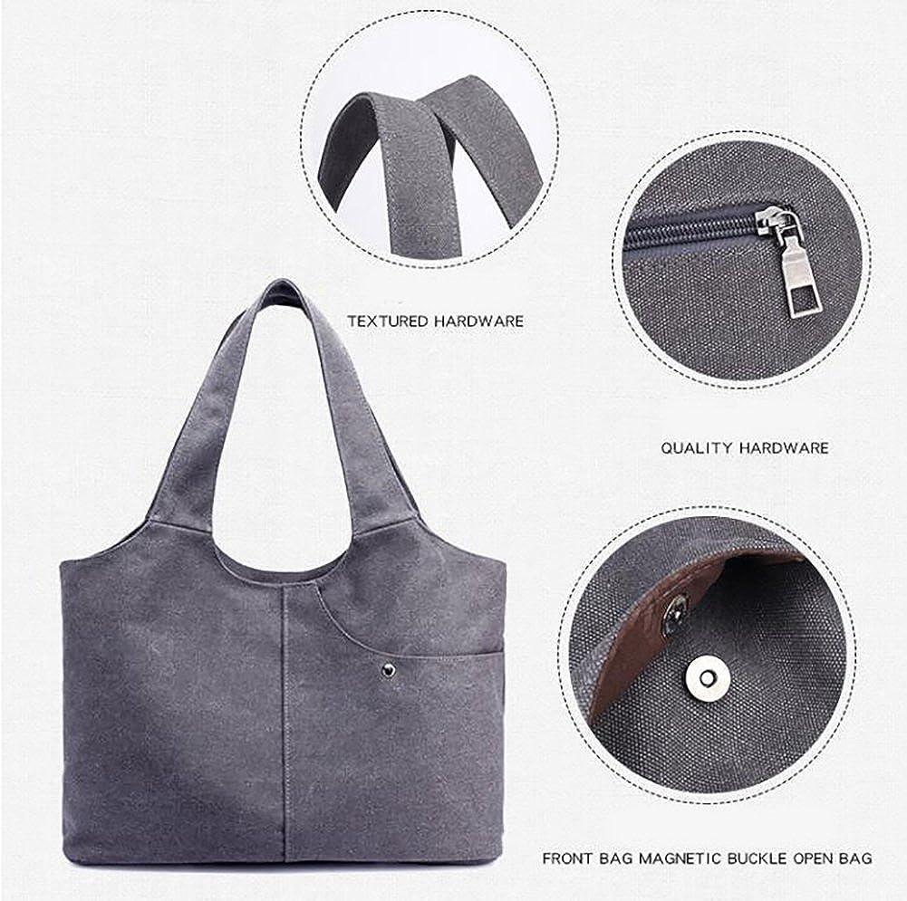 High Capacity,Simple Canvas Bag Shoulder Bags Handbag Crossbody Bags For Girls
