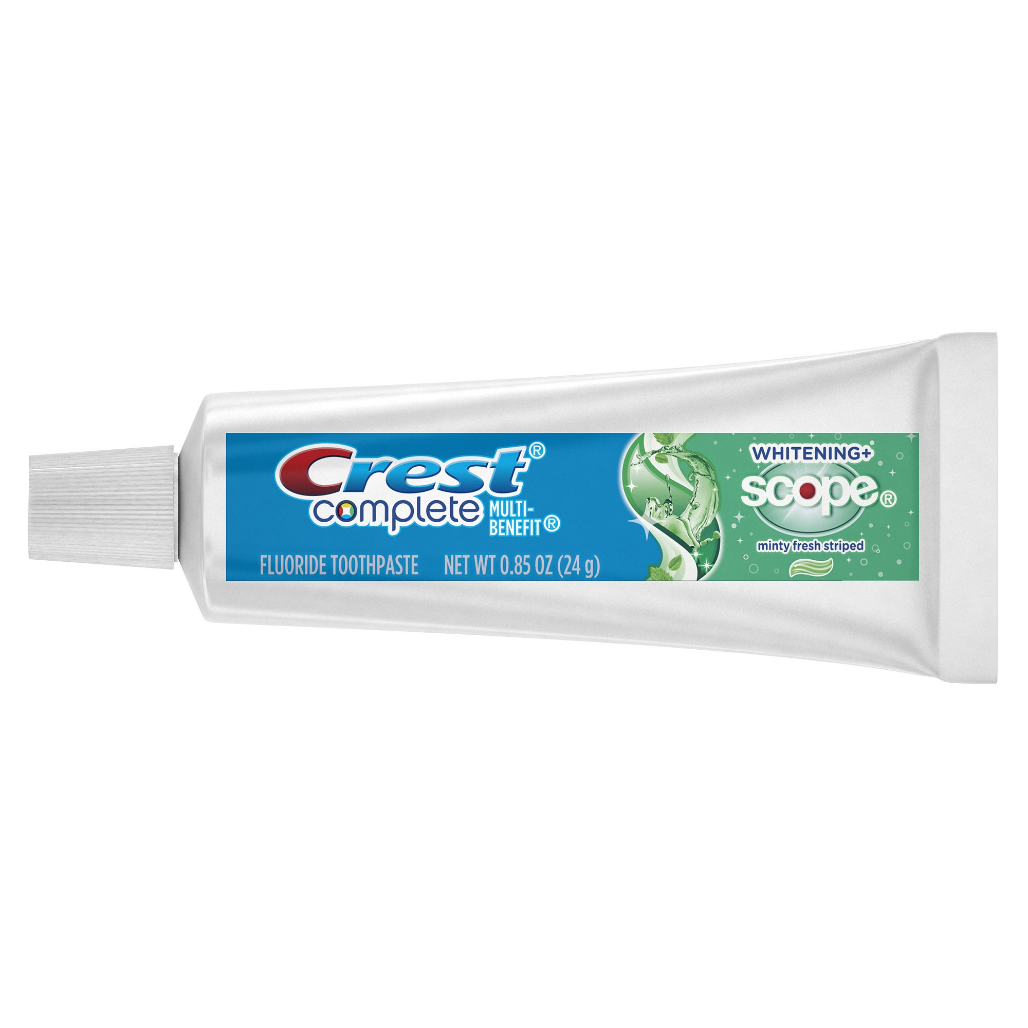 Crest Complete Whitening Plus Scope Minty Fresh Toothpaste, .85 Ounce