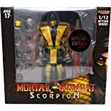 Storm Collectibles Mortal Kombat Scorpion 1/12 Action Figure (Special Edition Bloody Version)
