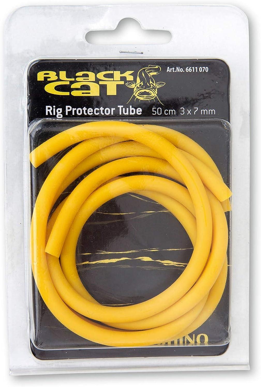 Black Cat Rig Tube Jaune 4 mm//8 mm