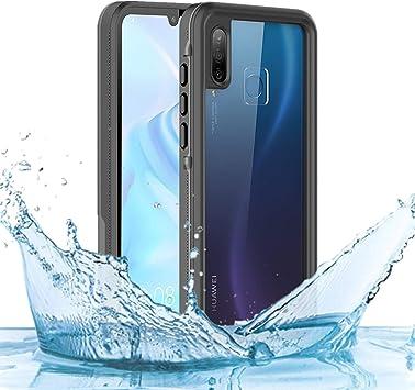 RanGuo Funda Impermeable Huawei P30 Lite, [Certificación IP68] Funda Completa para el Cuerpo con Protector de Pantalla,Resistente al Agua, a Prueba de Golpes, a Prueba de arañazos (Negro): Amazon.es: Electrónica