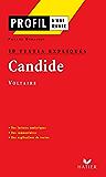 Profil - Voltaire : Candide : 10 textes expliqués : Analyse littéraire de l'oeuvre (Profil d'une Oeuvre t. 104)