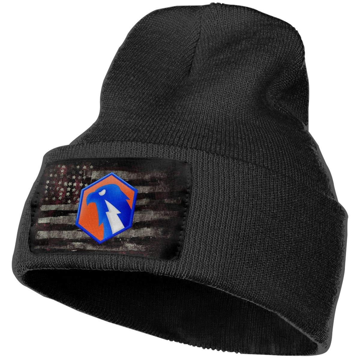 US Army 6th Signal Command Mens Beanie Cap Skull Cap Winter Warm Knitting Hats.