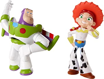 Disney/Pixar Toy Story 20th Anniversary Jessie and Spanish Buzz ...