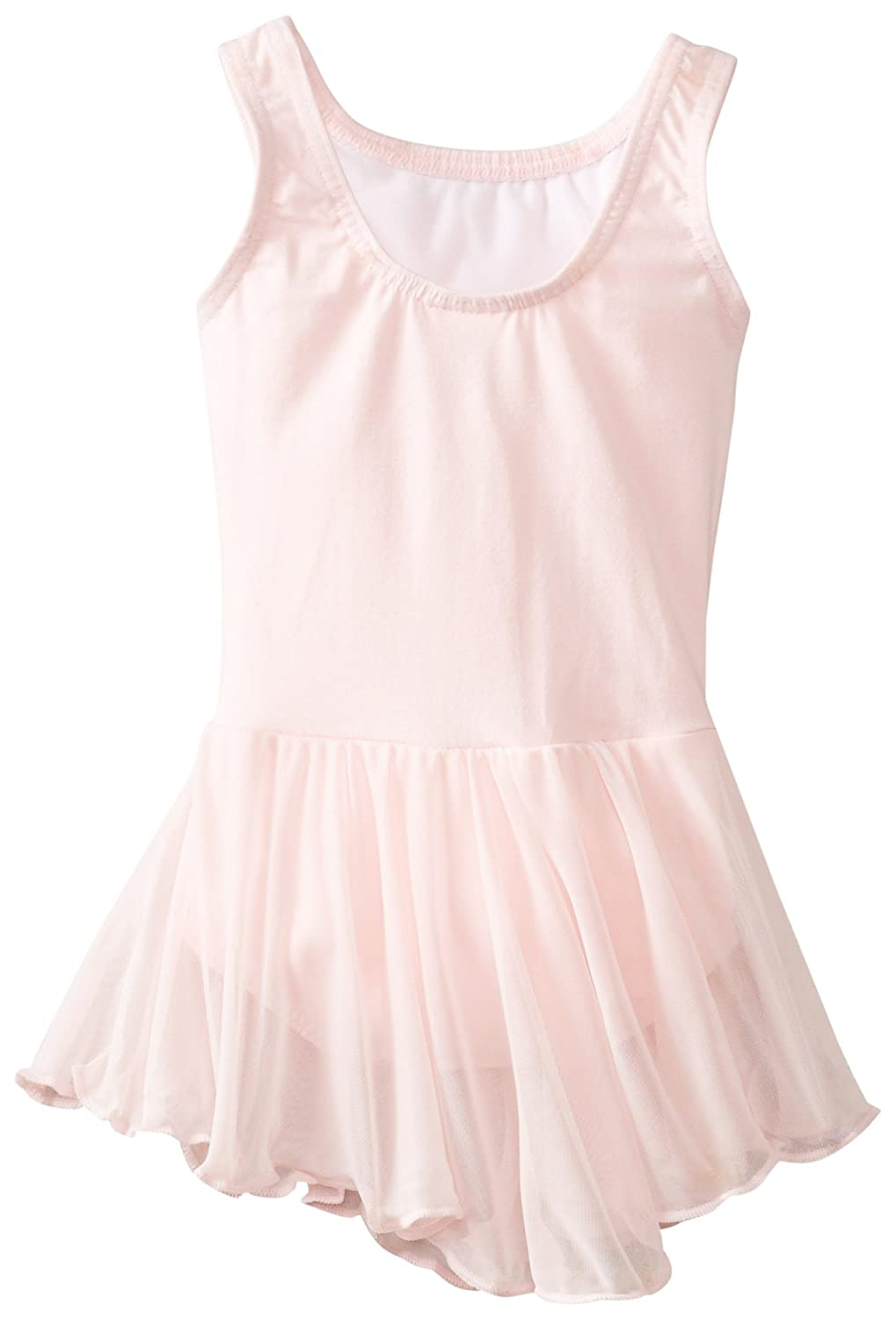 Little Girl Leotard Dress Sleeveless Tank One Piece Ballerina Top Dancewear Costume Clementine Girls 2-6X MG190