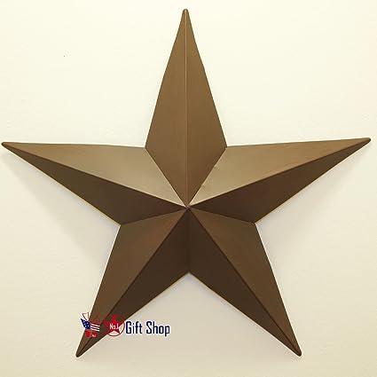 "METAL STAR WALL DECOR 23/"""