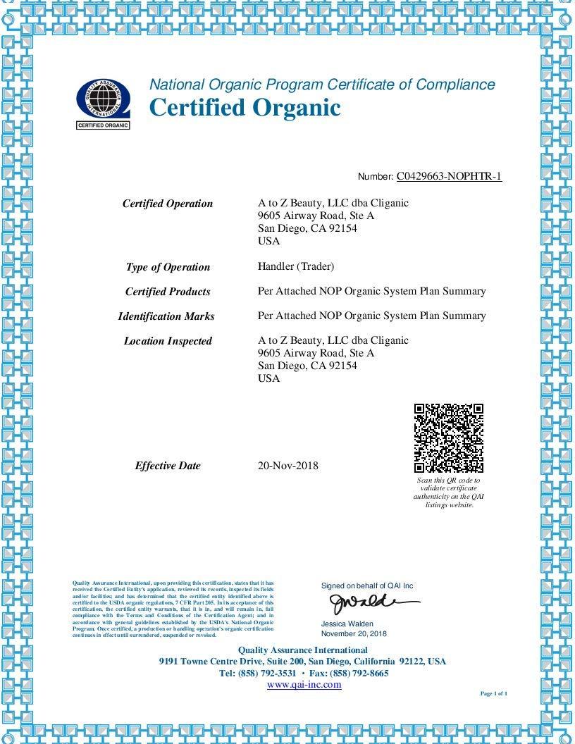 Cliganic USDA Organic Lavender Essential Oil  100 Pure Undiluted Natural NonGMO Therapeutic Grade
