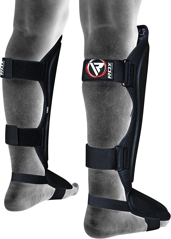 RDX Shin Guard MMA Instep Leg Pads Protective Muay Thai Boxing Training Kickboxing
