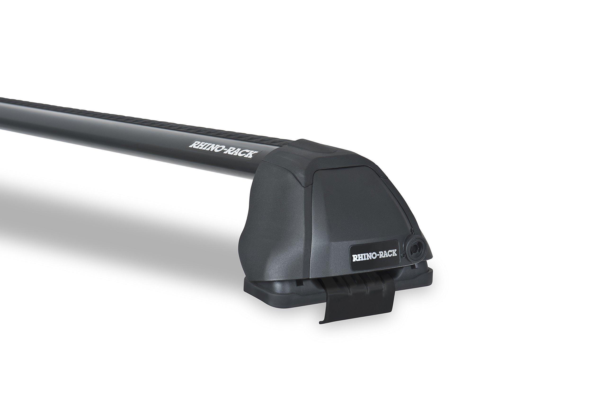 Rhino Rack Vortex 2500 RS Black 2 Bar Roof Rack