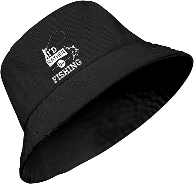 O 3 Colours Men/'s Novelty /'I/'d Rather Be Fishing/' Summer Baseball Cap Sun Hat