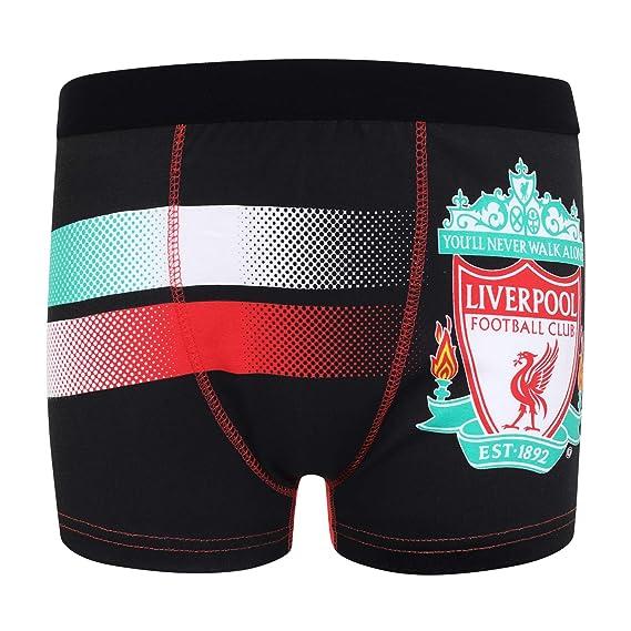 Liverpool FC - Pack de 3 calzoncillos oficiales de estilo bóxer ...