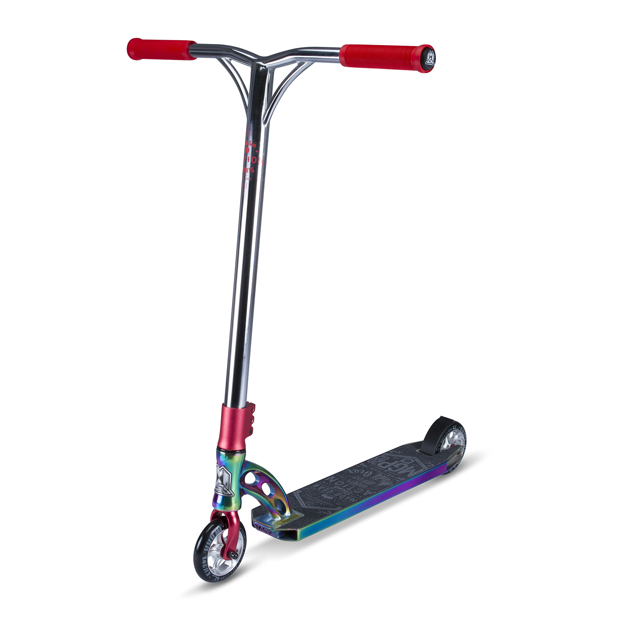 Madd Gear Team Scooter, Oil Slick Neo Chrome/Red