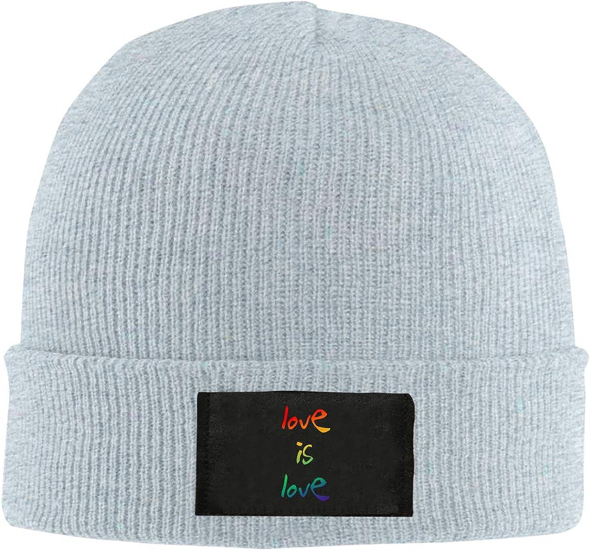 LRHUI Gay Winter Knitted Hat Warm Wool Skull Beanie Cap