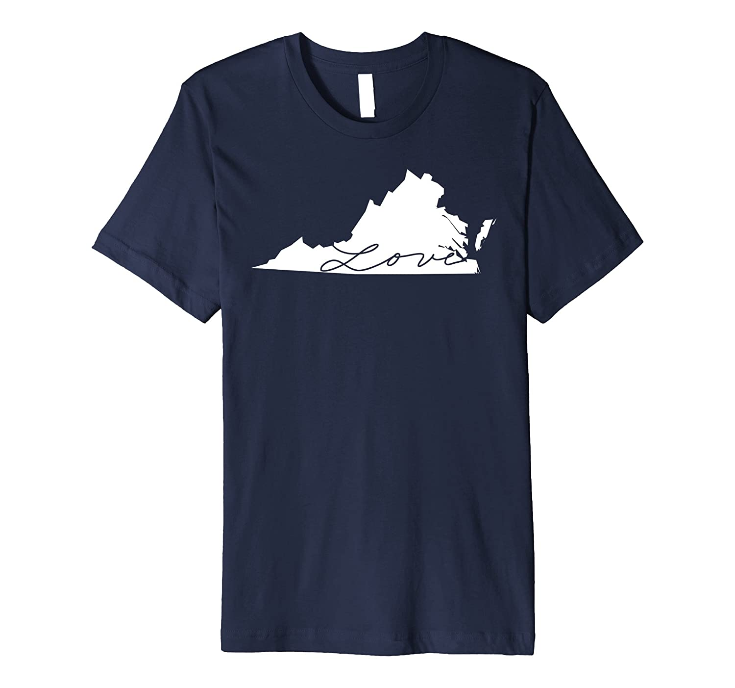 50nifty The State Love Collection - Virginia T-shirt-CD