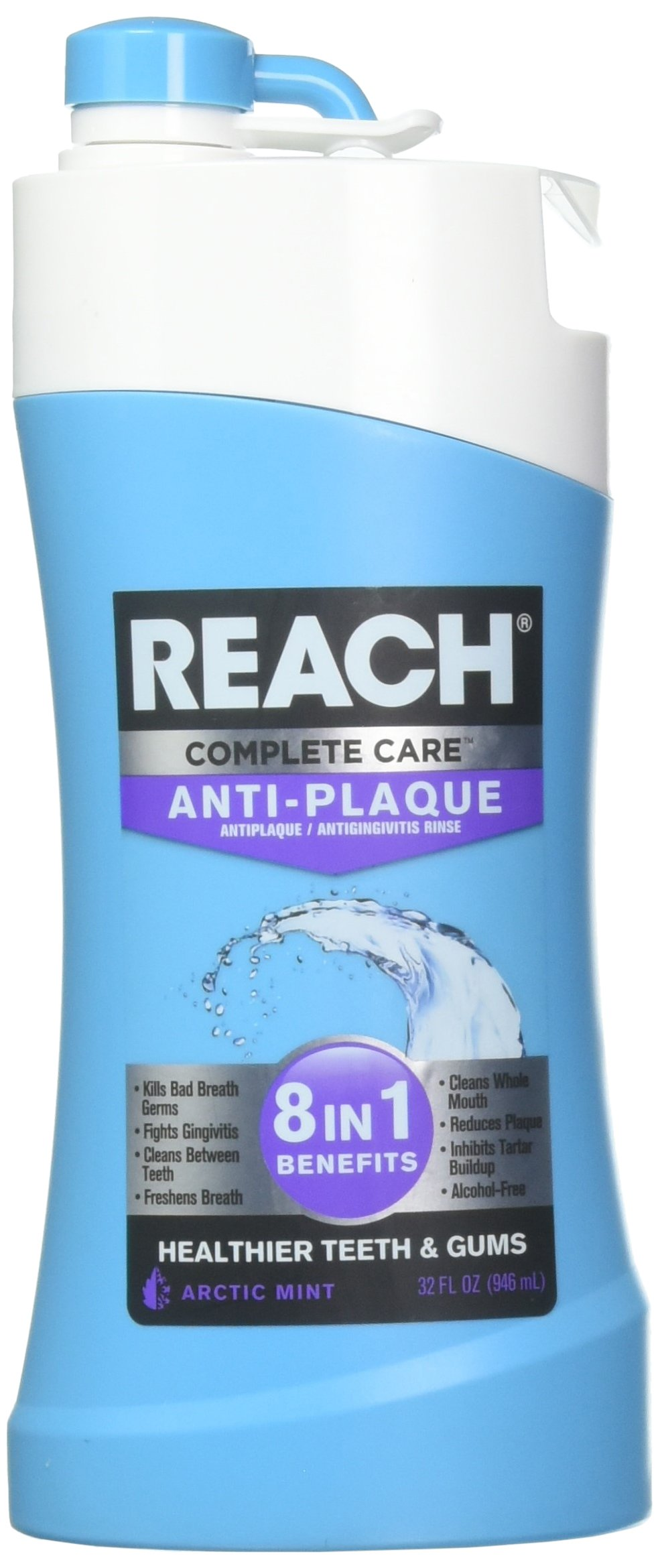 REACH complete care 8 in 1 Arctic Mint 32 fl oz