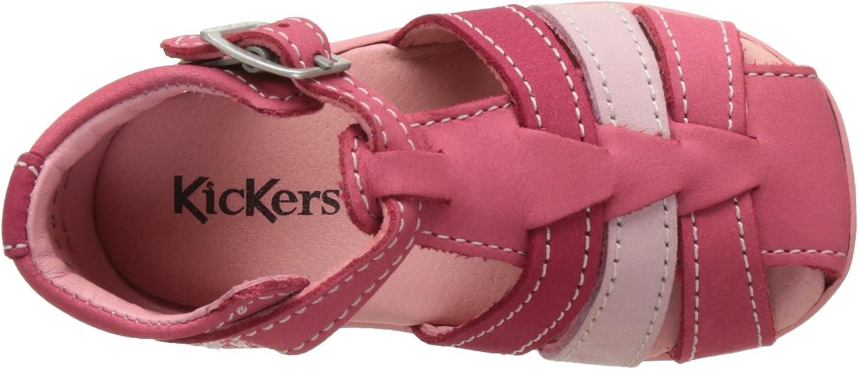 Sandales b/éb/é Fille Kickers Bigfly