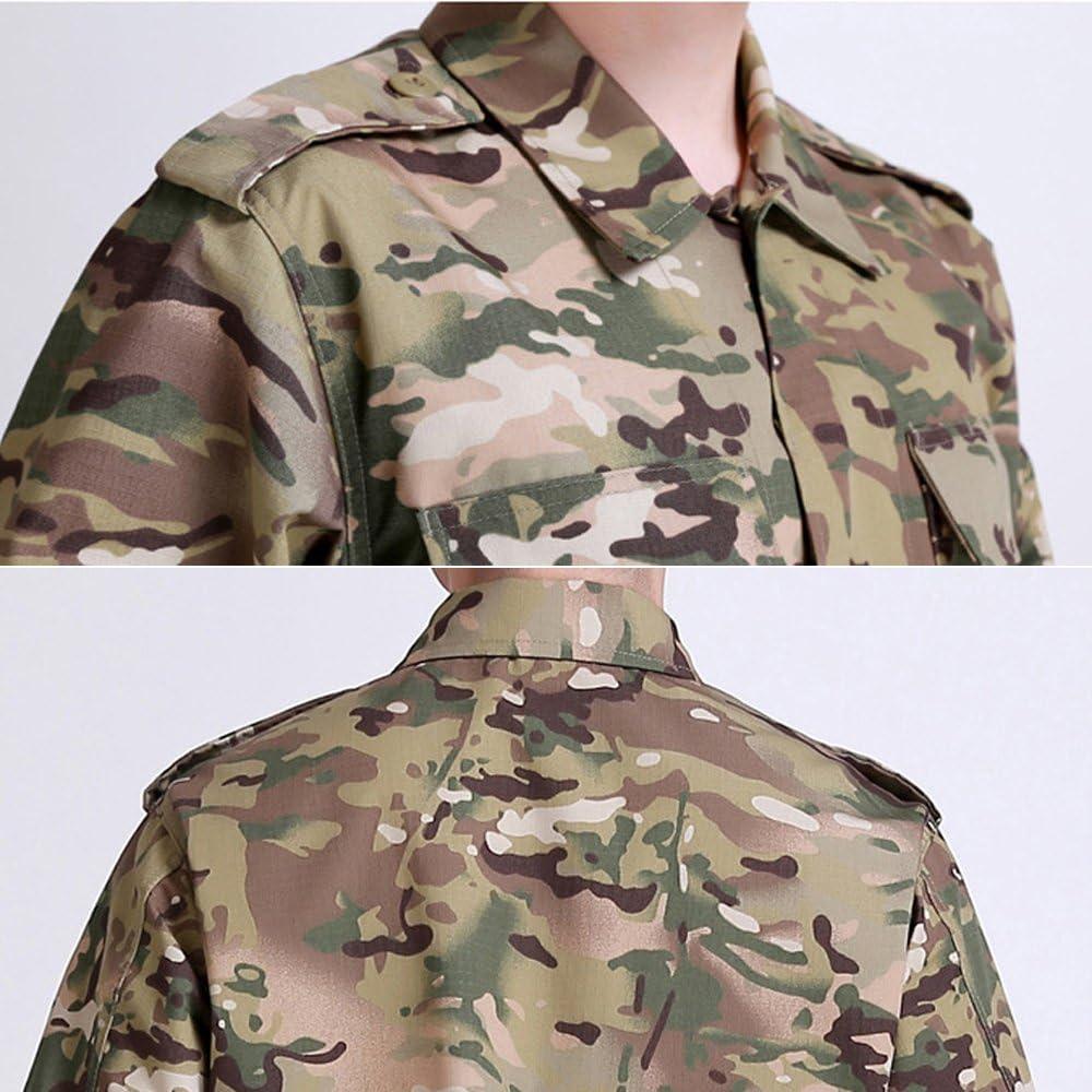 uniforme militar paintball y pantalones bata Traje de camuflaje para combate traje de caza bdu NoGa edici/ón regular