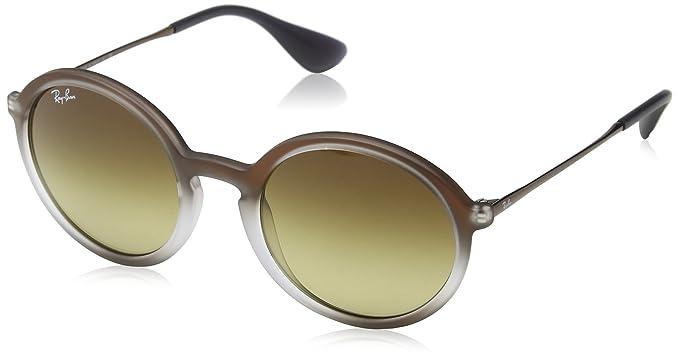 4430a38c1637a4 Ray-Ban Gradient Rectangular Men's Sunglasses - (0RB422262241350|50|Brown  Gradient Dark