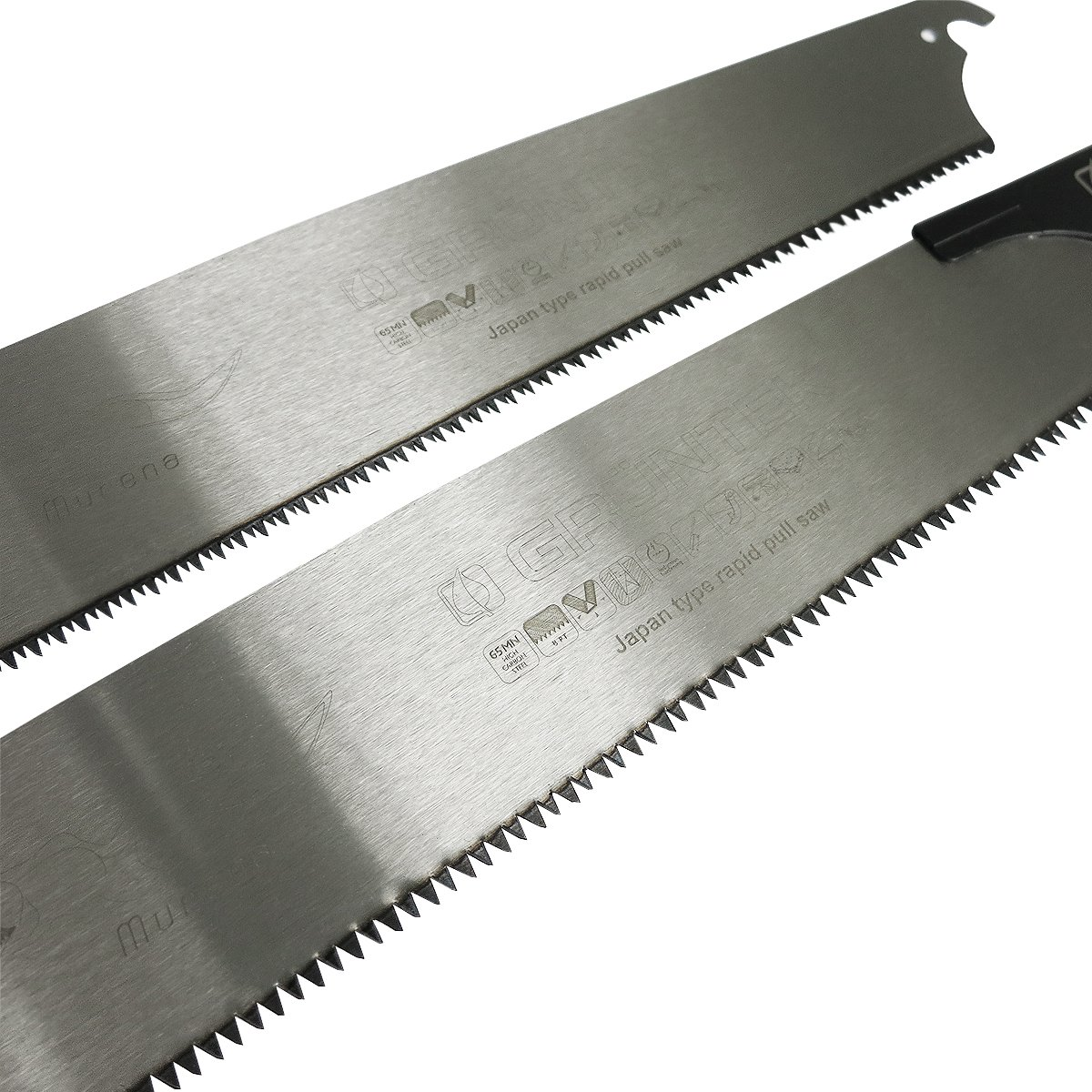 sierra de jard/ín sierra de mano sierra tronzadora para corte fino y grueso 300/mm con 2/hojas Murena Sierra japonesa