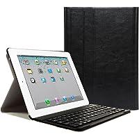 iPad 2 3 4 Funda con Teclado Bluetooth ,CoastaCloud iPad 2/3/4 Funda Cubierta Protectora con Teclado Inalambrico QWERTY…