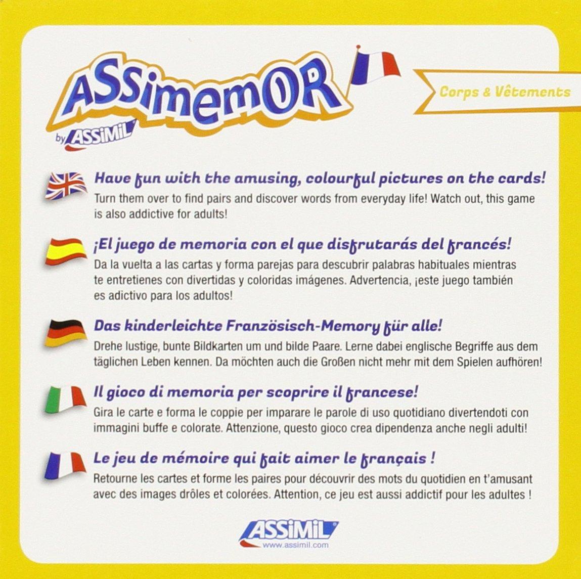 ASSIMEMOR CORPS ET VETEMENTS (FRANCES): 9782700590388 ...