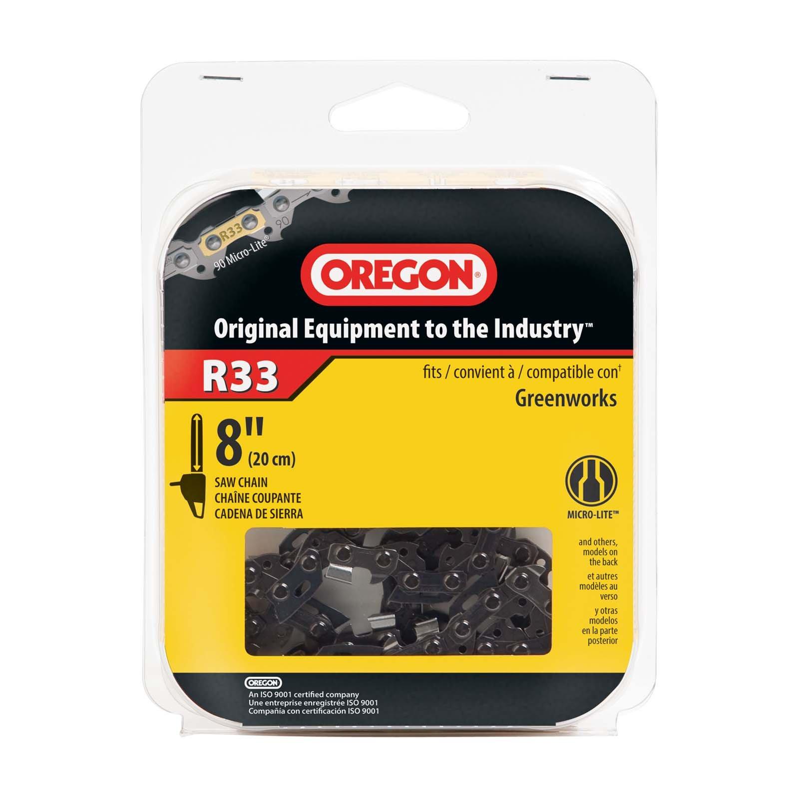 Oregon R33 AdvanceCut 8-Inch Chainsaw Chain, Fits Poulan, Ryobi by Oregon