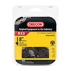 Oregon R33 AdvanceCut 8-Inch Chainsaw Chain, Fits Poulan, Ryobi