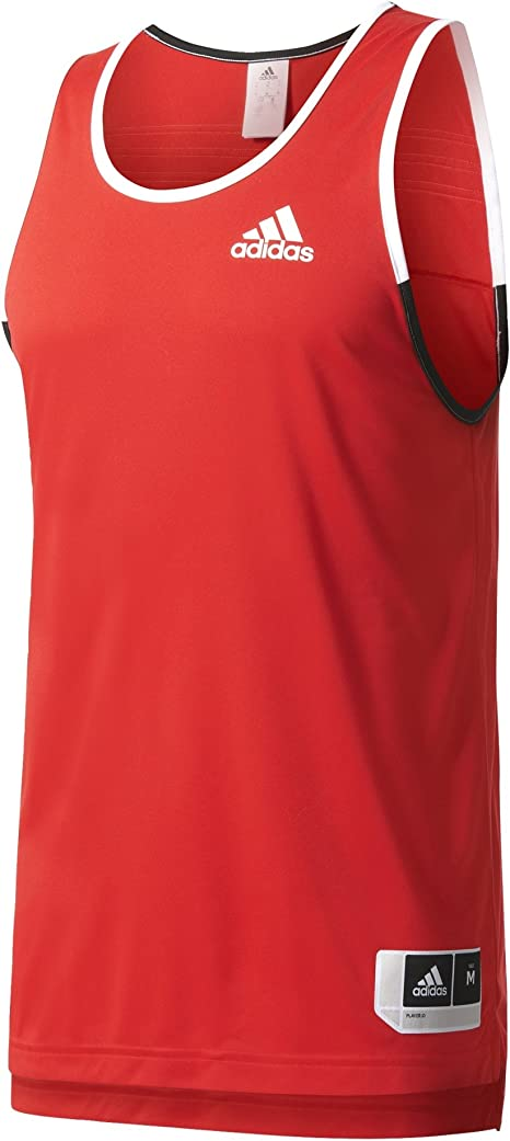 adidas Commander Jerse Camiseta sin Mangas de Baloncesto, Hombre: Amazon.es: Ropa y accesorios