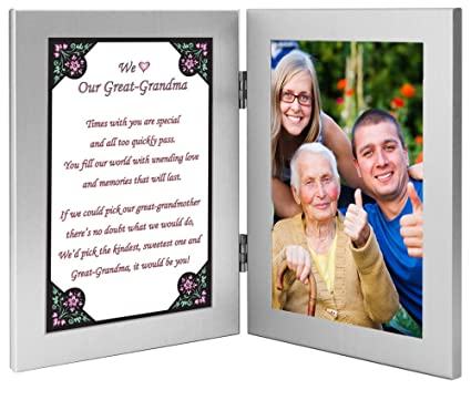 Great Grandma Birthday Gift From Grandchildren Add Photo