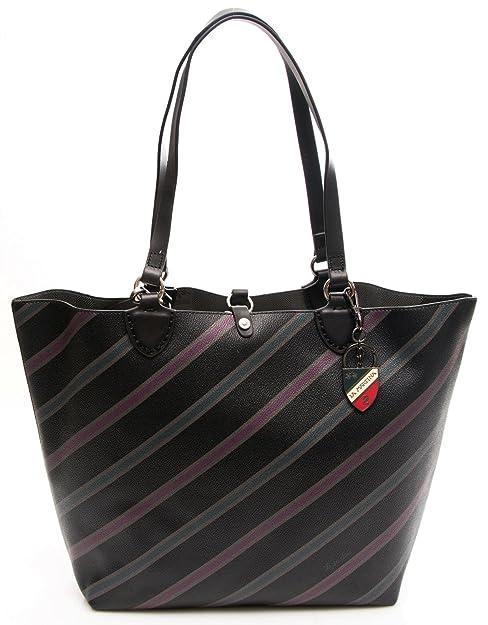 07e4ed9c1c3c0 La Martina Borsa Donna Carmen Shopping Bag Black L63PW3140012999   Amazon.it  Scarpe e borse