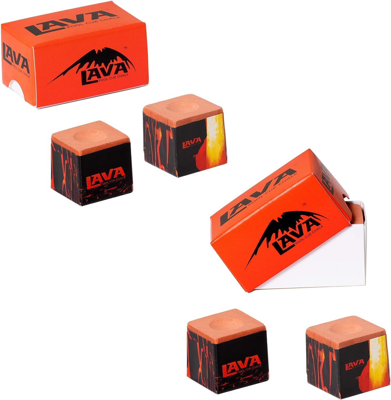LAVA - Taco de Billar (4 Unidades, 2 Cajas): Amazon.es: Hogar