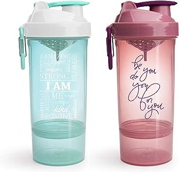Smartshake botella batidora con frases motivadoras, Original2Go ...