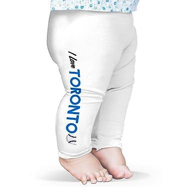white funny baby leggings Poo
