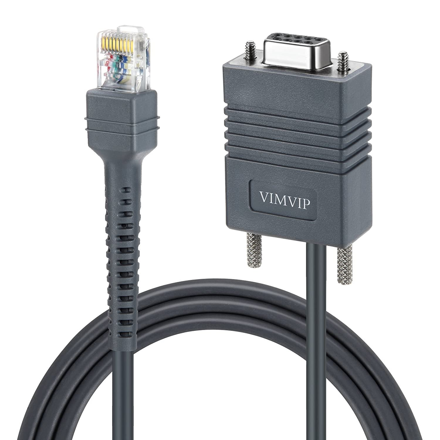 Amazon vimvip 6ft usb cable for symbol ls1203ls2208ls4208 for symbol ls1203ls2208ls4208ls9203ls9208ls7808ls7708ds6708ds6708ls3008ls3408 rj45 to db9 female bar code scanner serial cable electronics biocorpaavc Gallery