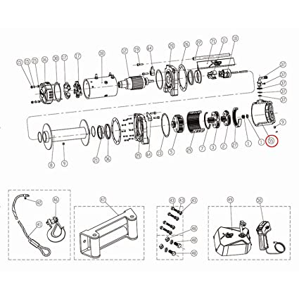 smittybilt wiring diagram best place to find wiring and datasheet 2012 Jeep Liberty Rear Bumper amazon smittybilt 97495 55 winch gear box assembly for xrc 9 5k smittybilt xrc front bumper
