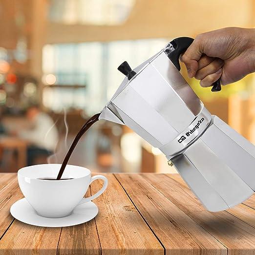 Cafetera italiana ORBEGOZO KF900   ORBEGOZO 9 tazas Vitro Gas Electrico: Amazon.es: Hogar