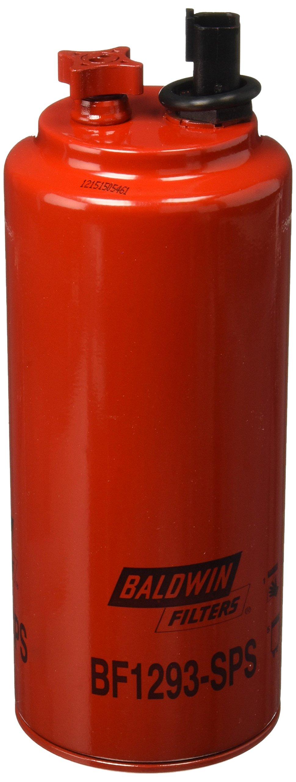 Baldwin Heavy Duty BF1293-SPS Fuel Filter,10-1/32x3-11/16x10-1/32 In