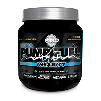 Amazoncom Pmd Sports Ultra Pump Fuel Insanity Pre Workout Drink