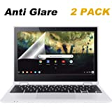 "2 Pack 11.6"" Chromebook Anti Glare Screen Protector Compatible Acer Chromebook 11.6"" /Lenovo Chromebook 11.6"" /ASUS Chromebook 11.6"" /Samsung Chromebook 11.6"" /Dell Chromebook 11.6"" /HP Chromebook 11"