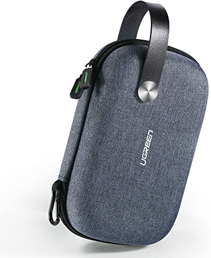 Earphone Data Cables USB Flash Drives Travel Case Digital Storage Bag Pouch Box