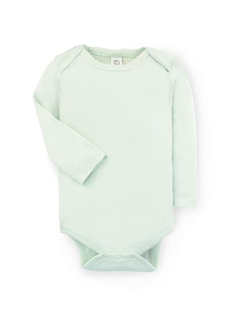 e5b18f9bb Colored Organics Unisex Baby Organic Cotton Bodysuit - Long Sleeve Infant  Onesie - Caribbean - Newborn
