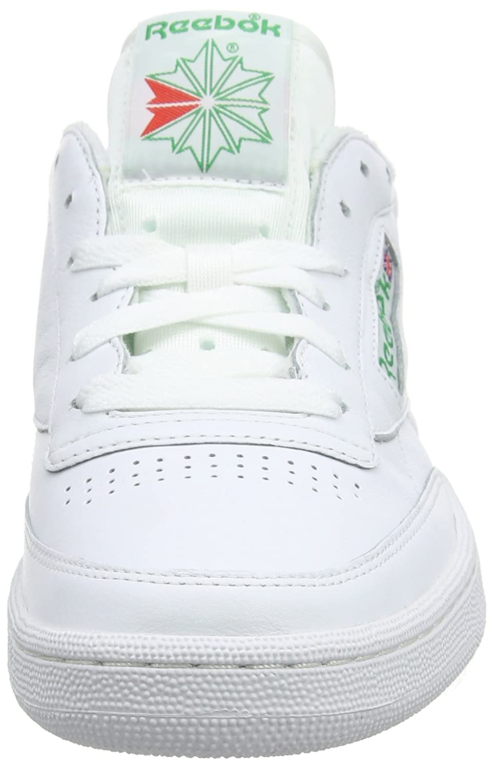 Reebok Men s Club C 85 Archive White Glen Green Excellen Leather Tennis  Shoes-10 UK India (44.5 EU) (11 US) (CN0645)  Buy Online at Low Prices in  India ... 6da40d4eb