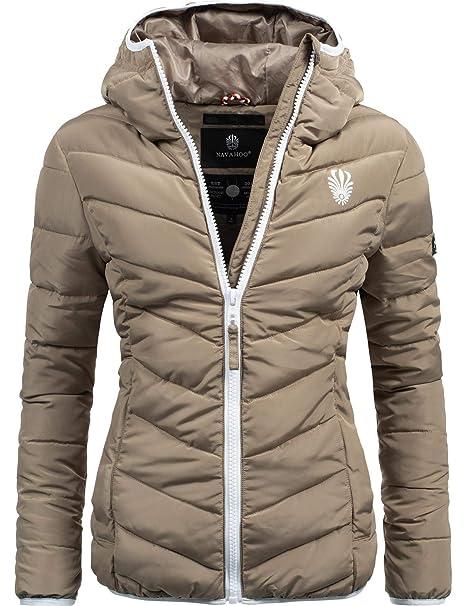 new style 4a1fd b88b3 Navahoo Damen Winterjacke Steppjacke Elva 17 Farben XS-XXL