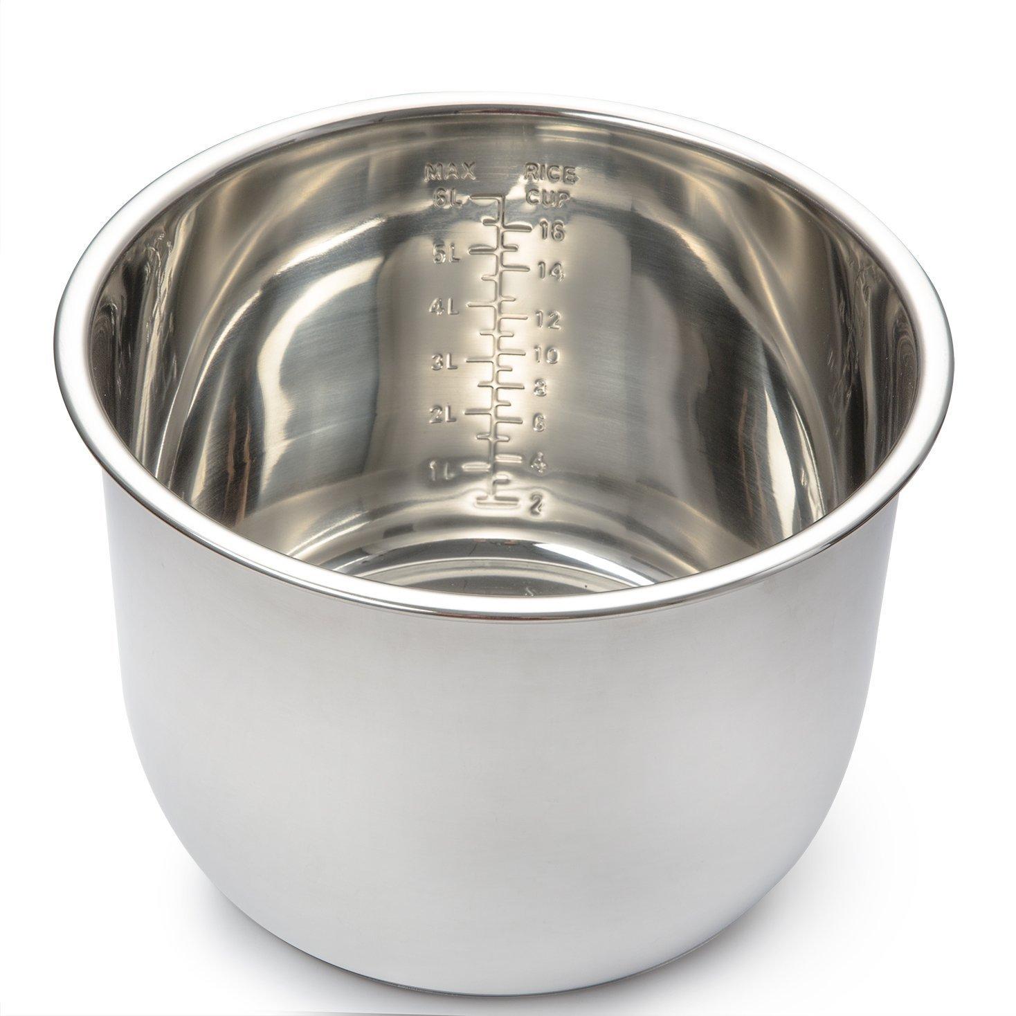 COSORI Stainless Steel Inner Pot for 8 Quart Premium Pressure Cooker