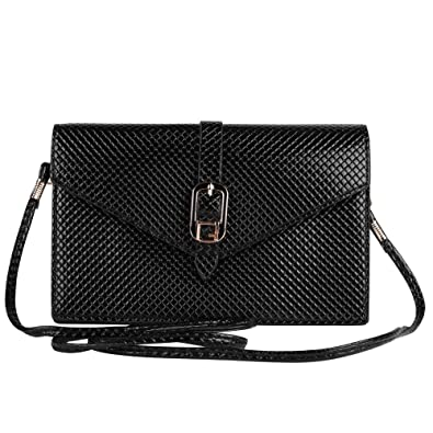 Amazon.com: Elegante Diamante Bolsa de embrague para mujer ...