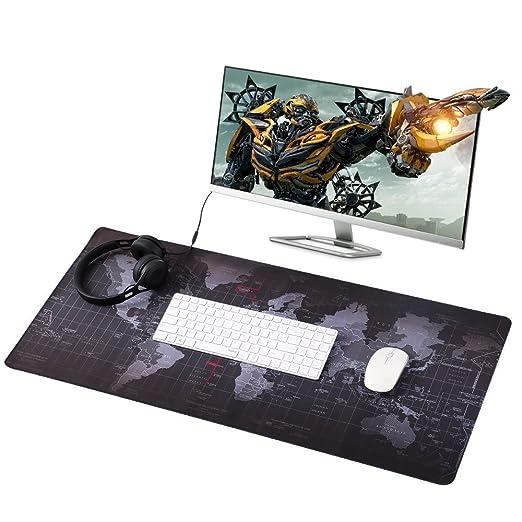 20 opinioni per Eligoo Tappetini per il Mouse Gaming Mouse Pad XXL 900x400mm Tappetino scrivania