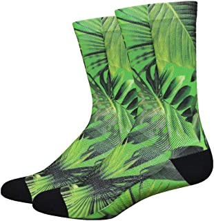 product image for Defeet SUBJUNGR401 Sublimation Jungle Socks, X-Large, Green/Black