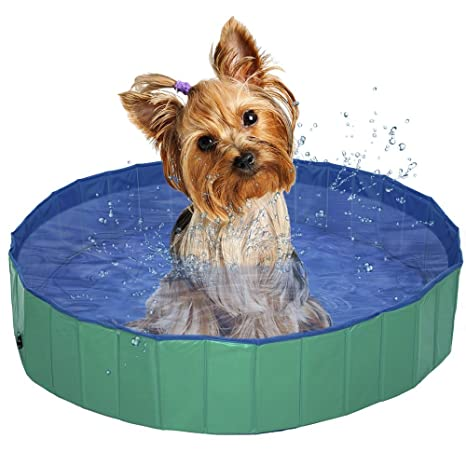 Piscina para Perros Gatos Plegable de Mascotas Niños Bebe Baño ...