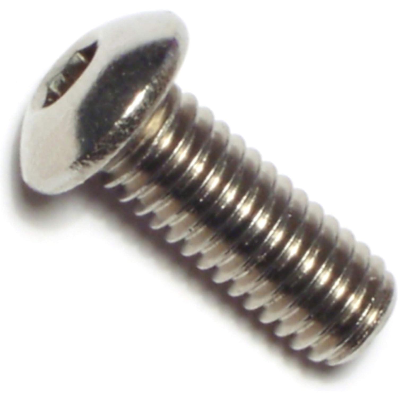 Hard-to-Find Fastener 014973178574 Button Head Socket Cap Screws Piece-6 3//8-16 x 1
